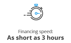 Financing Speed