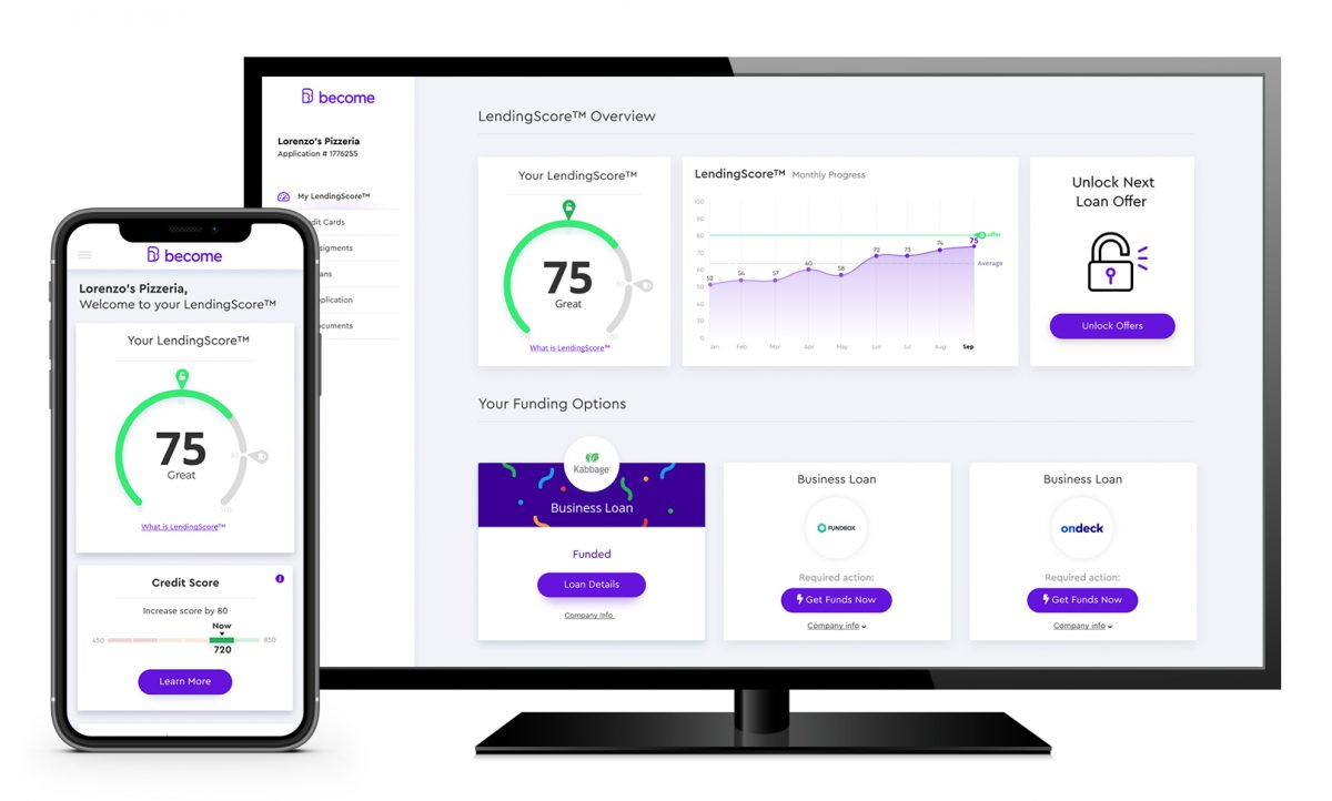 LendingScore™ Dashboard