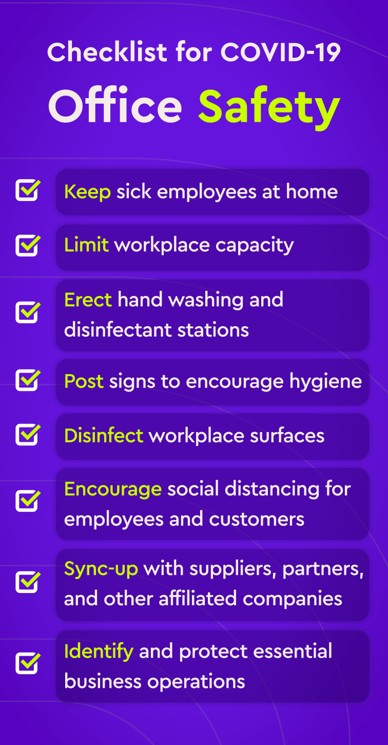 COVID-19 Office Safety Checklist