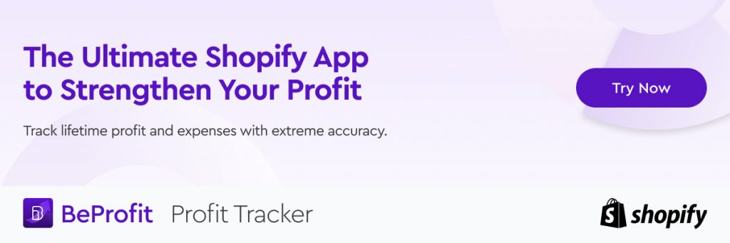 Calculate profit with BeProfit - Profit Tracker
