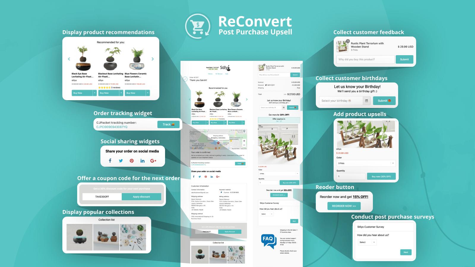 Reconvert Upsell